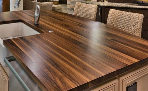 How To Build A Wood Plank Countertop
